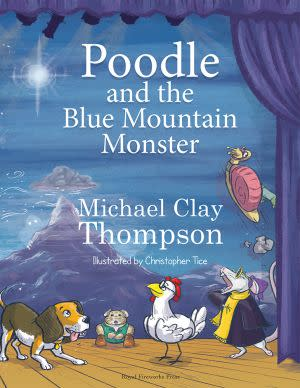 Award-Winning Children's book — Poodle and the Blue Mountain Monster