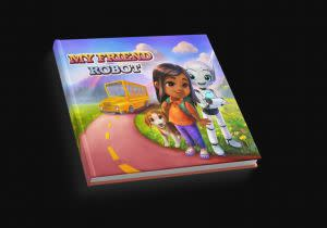 Award-Winning Children's book — My Friend Robot - Personalized Storybook