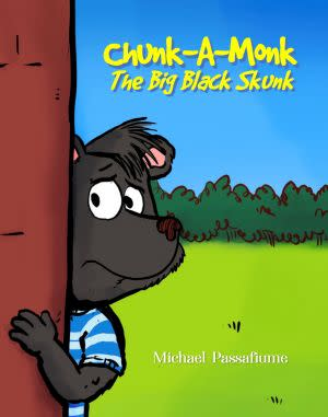 Award-Winning Children's book — Chunk-A-Monk, The Big Black Skunk