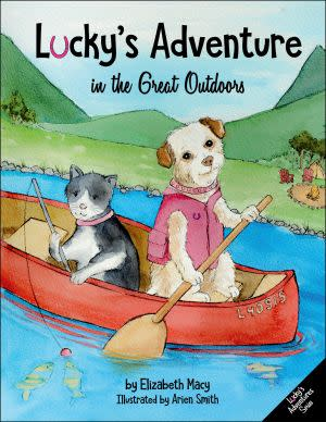 Award-Winning Children's book — Lucky's Adventure in the Great Outdoors