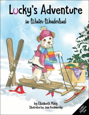 Award-Winning Children's book — Lucky's Adventure in Winter Wonderland