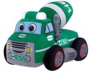 Award-Winning Children's book — My Plush Hess Truck: 2021 Cement Mixer