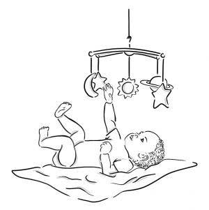 Award-Winning Children's book — Playing with Baby