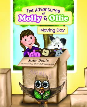 Award-Winning Children's book — The Adventures of Molly & Ollie: Moving Day