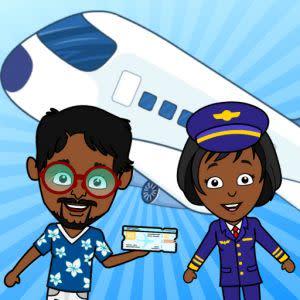 Award-Winning Children's book — My Tizi Town – Airplane Games