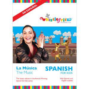 Award-Winning Children's book — Spanish for Kids: La Música (The Music)