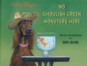 Award-Winning Children's book — No Ghoulish Green Monsters Here