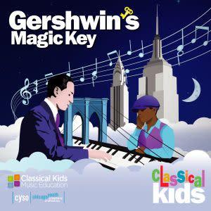 Award-Winning Children's book — Gershwin's Magic Key