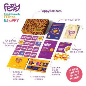 Award-Winning Children's book — Feppy Box
