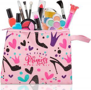 Award-Winning Children's book — My First Princess Make Up Kit - 12 Pc Kids Makeup Set - Washable Pretend Makeup For Girls