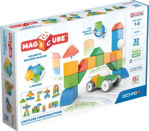 Award-Winning Children's book — Geomag Magicube Multishapes Building Blocks Magnetic Toys 32pc