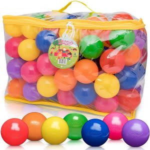 Award-Winning Children's book — FoxPrint Soft Plastic Kids Play Balls – Non Toxic,