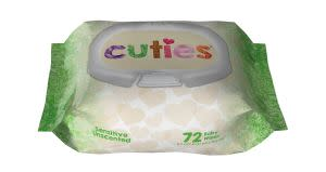 Award-Winning Children's book — Cuties® Baby Wipes