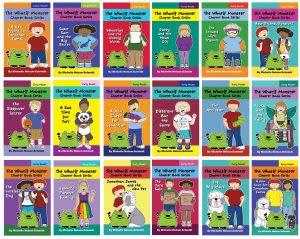 Award-Winning Children's book — The Whatif Monster Chapter Book Series