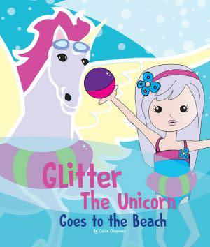 Award-Winning Children's book — Glitter the Unicorn goes to the Beach