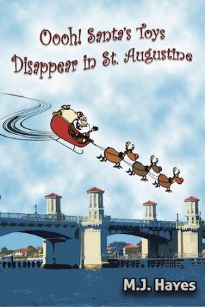 Award-Winning Children's book — Ooh! Santa's Toys Disappear in St. Augustine