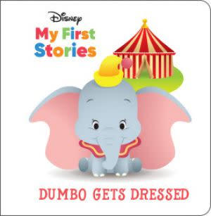 Award-Winning Children's book — Disney My First Stories: Dumbo Gets Dressed