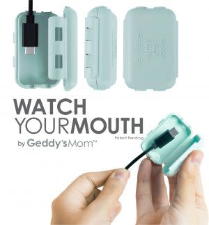 Award-Winning Children's book — Watch Your Mouth USB charger safety covers