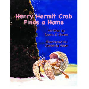 Award-Winning Children's book — Henry Hermit Crab Finds a Home