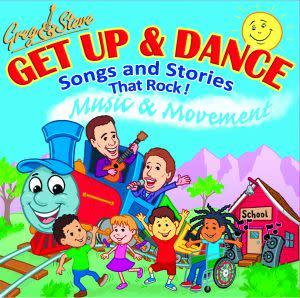 Award-Winning Children's book — Greg & Steve GET UP & DANCE CD