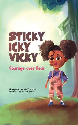 Award-Winning Children's book — Sticky Icky Vicky: