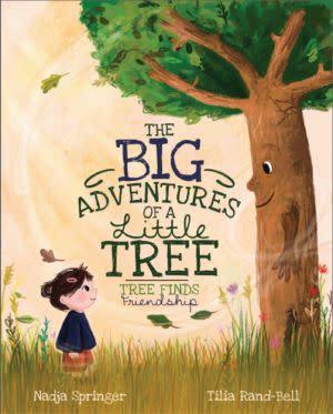 Award-Winning Children's book — The Big Adventures Of A Little Tree: Tree Finds Friendship