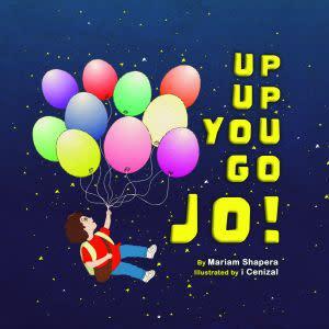 Award-Winning Children's book — Up Up You Go Jo!