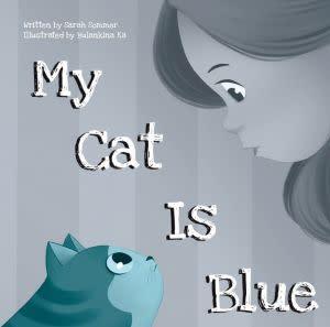 Award-Winning Children's book — My Cat Is Blue