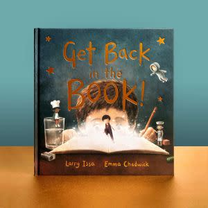 Award-Winning Children's book — Get Back in the Book!