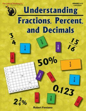 Award-Winning Children's book — Understanding Fractions, Percent, and Decimals