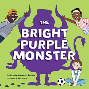 Award-Winning Children's book — The Bright Purple Monster