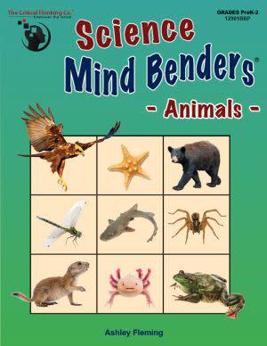 Award-Winning Children's book — Science Mind Benders®: Animals