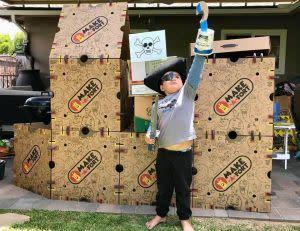 Award-Winning Children's book — Make-A-Fort Build Kit