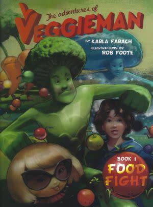 Award-Winning Children's book — The Adventures of Veggieman