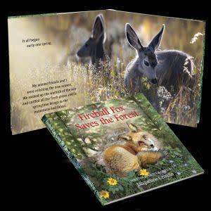 Award-Winning Children's book — Fireball Fox Saves The Forest