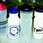 stay hydrated with reusable water bottles