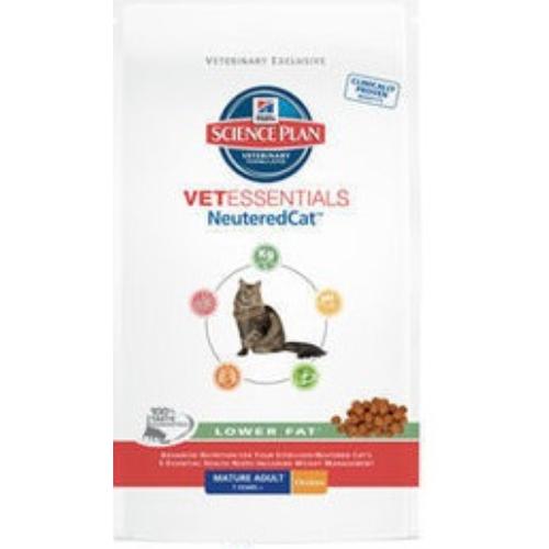 Hills Science Plan Vet Essentials Feline Neutered Lower Fat With Chicken