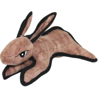 Tuffy Barnyard Rabbit Dog Toy Brown Barnyard Rabbit