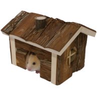 Rosewood Small Animal Forest Cabin
