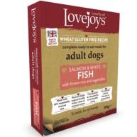 Lovejoys Salmon & Brown Rice Wet Dog Food 395g x 10