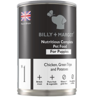 Billy And Margot Chicken And Tripe Puppy Food