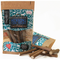 Green & Wilds Herring Fish Stick Dog Treats