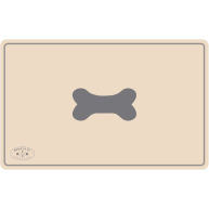 Banbury & Co Luxury Dog Feeding Mat Cream