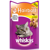 Whiskas Anti Hairball Cat Treats  55g