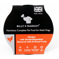 Billy and Margot Chicken Single Serve Wet Dog Food 150g x 15