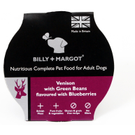 Billy and Margot Venison Single Serve Wet Dog Food