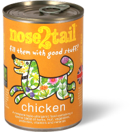 Nose 2 Tail Chicken Loaf Dog Food 395g x 12