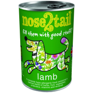 Nose 2 Tail Lamb Loaf Dog Food 395g x 12