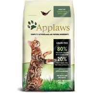 Applaws Chicken & Lamb Dry Adult Cat Food 400g