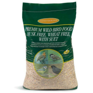 Johnston & Jeff Premium Husk Free, Wheat Free with Suet Wild Bird Mix 20kg